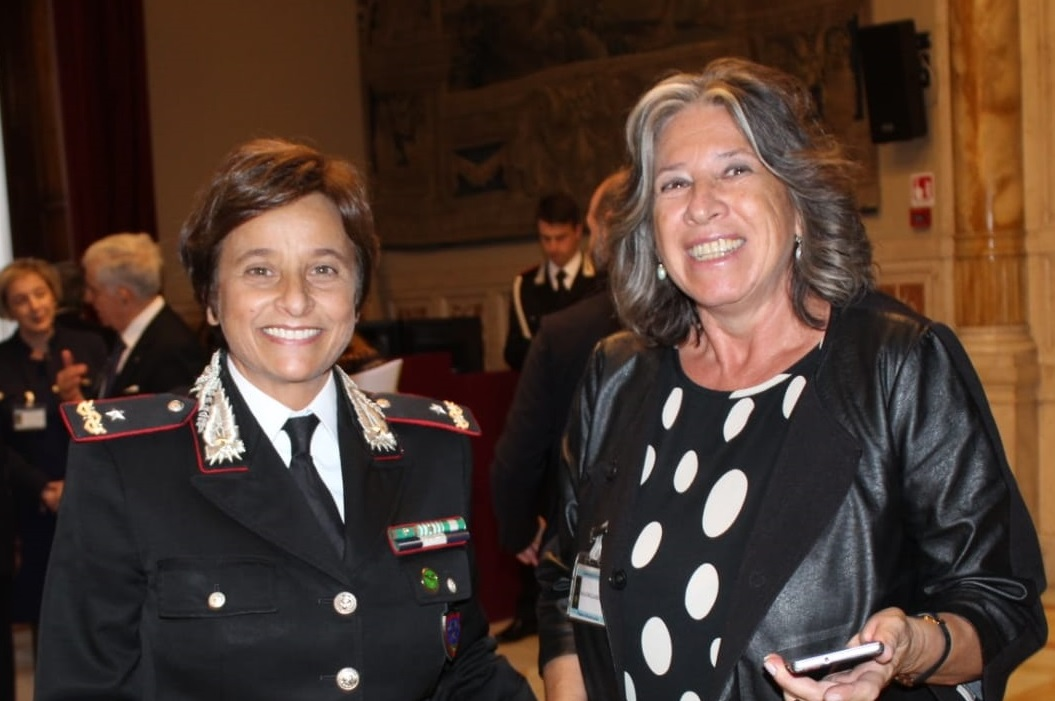 Luciana d'Ambrosio Marri intervista la Generale dei Carabinieri Rosa Patrone (Montecitorio, 6.11.19)