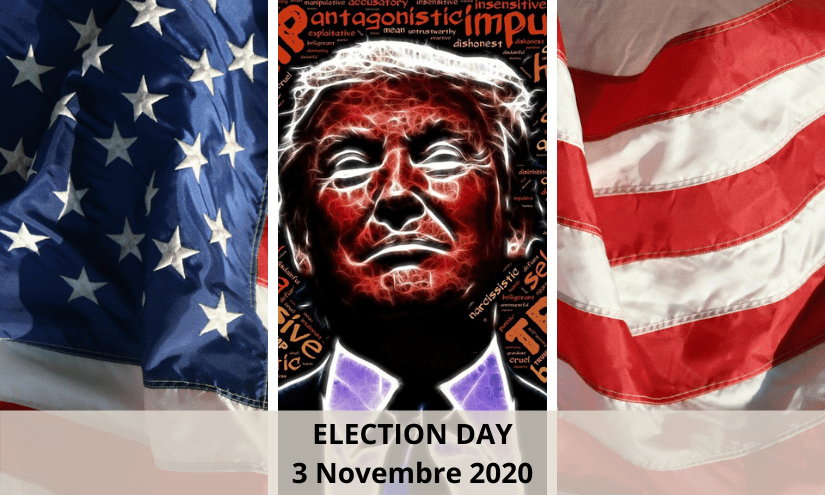 Donald Trump - Election Day USA 3 Novembre 2020